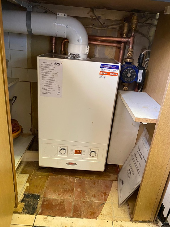 Alpha Boiler Installation west sussex