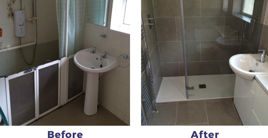 New Bathroom installation Worthing