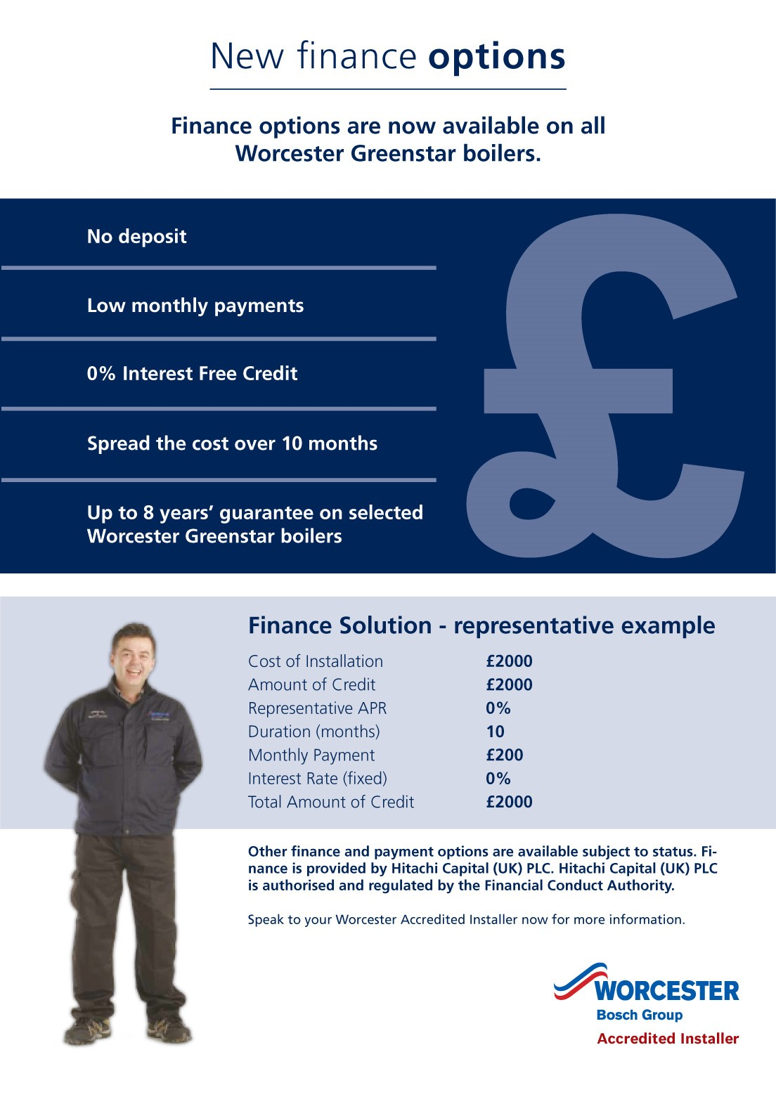 New Domestic Heating Finance Storrington